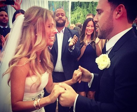 Justin Bieber's Manager Scooter Braun wedding day