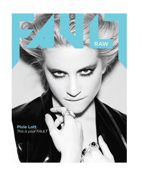 Pixie Lott Fault Magazine