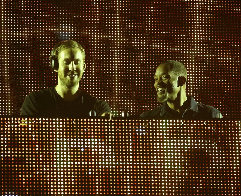 Calvin Harris Will Smith T In The Park 2014