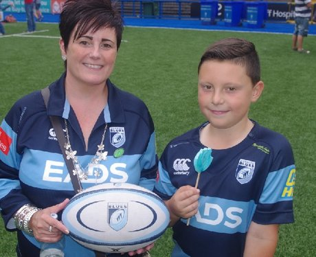 Cardiff Blues Family Fun Day