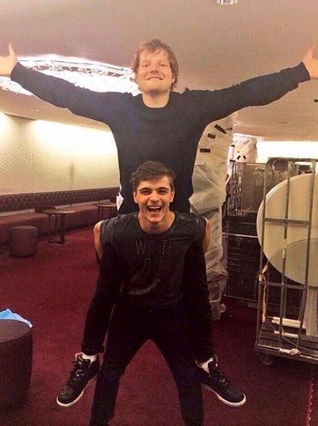 Ed Sheeran Martin Garrix Instagram