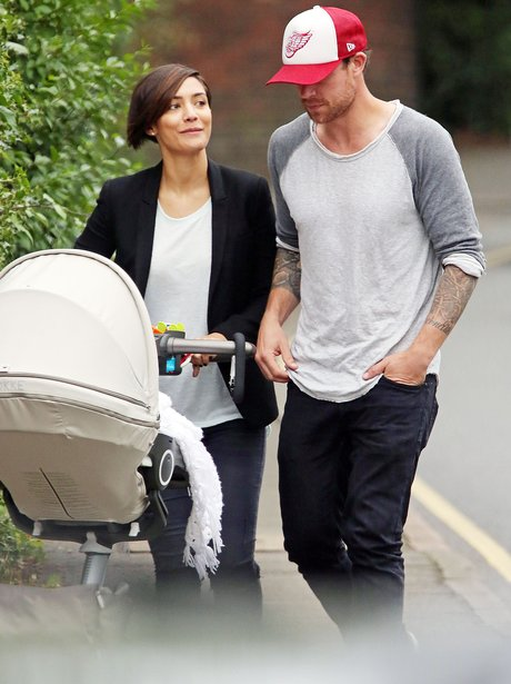 Frankie Sandford, Wayne Bridge and Baby Parker