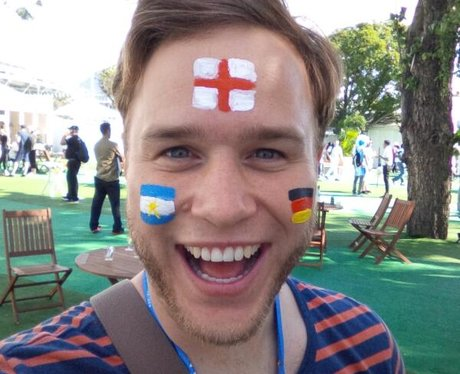 Olly Murs enjoys a trip to Brazil for the World Cu