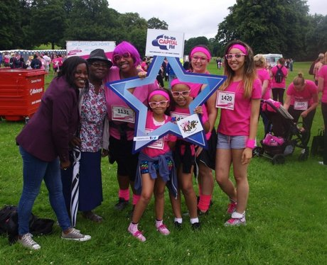 RaceFor Life - Derby 13th July 2014