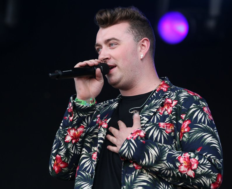 Sam Smith T In The Park 2014