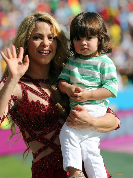 Shakira and Son World Cup 2014