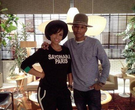 Alicia Keys and Pharrell