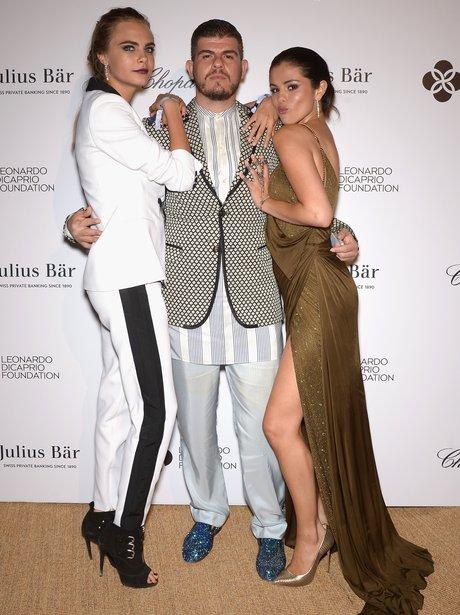 Cara Delevingne and Selena Gomez