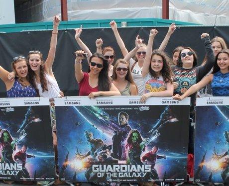Guardians of the Galaxy street stars