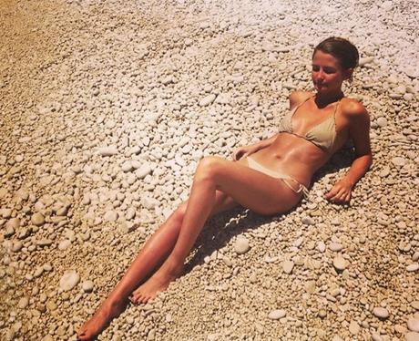 Millie Mackintosh in a bikini