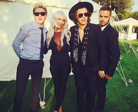 One Direction and Lou Teasdale