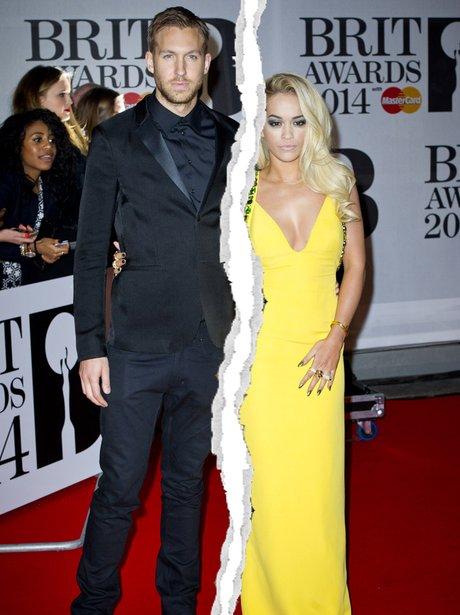 Rita Ora and Calvin Harris Split