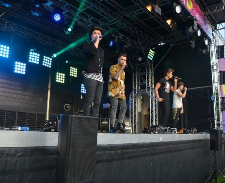 Union J at Ponty's Big Weekend!