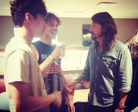 5 Seconds of Summer with Dave Grohl