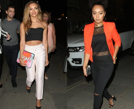 ade Thirlwall and Leigh-Anne Pinnock