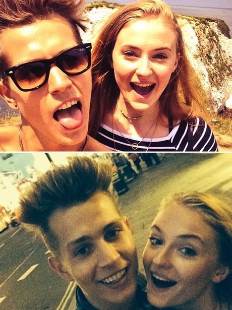 James McVey and Sophie Turner