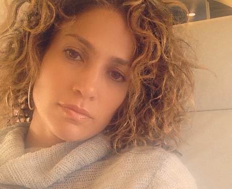J Lo Goes Back To Her Roots With A Curly Hairstyle Back In New York