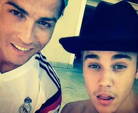 Justin Bieber Cristiano Ronaldo Instagram