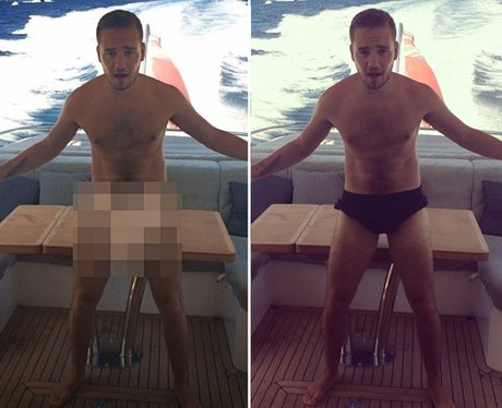 Liam Payne naked instagram picture