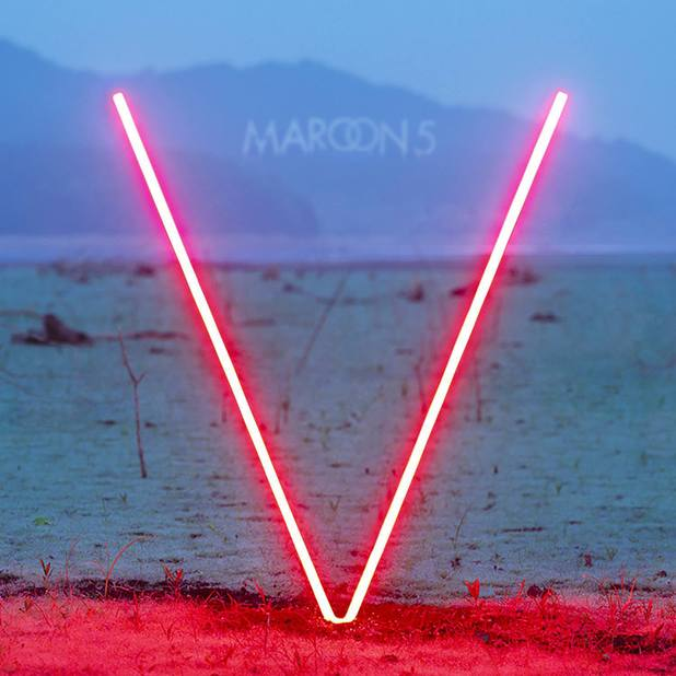Maroon 5 'V' Album Artwork