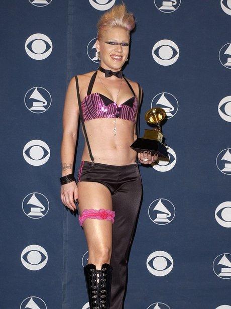 Pink Grammys Awards 2002