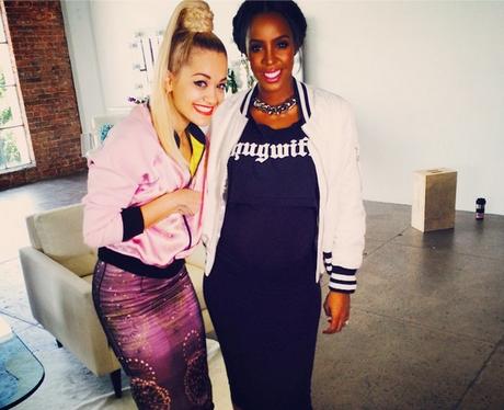 Rita Ora with Kelly Rowland