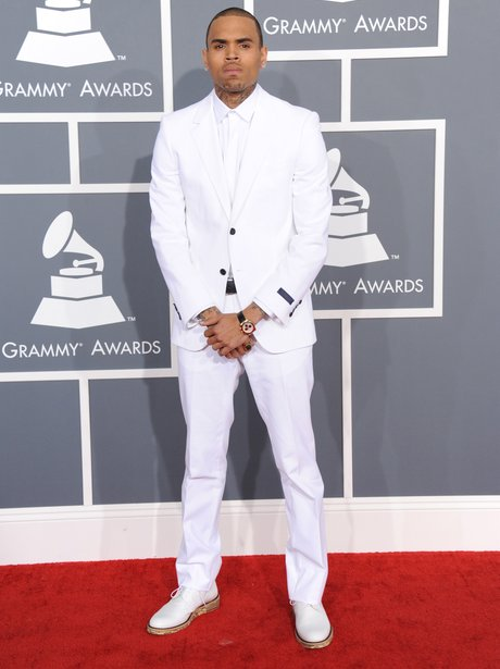 Chris Brown Grammy Awards 2013