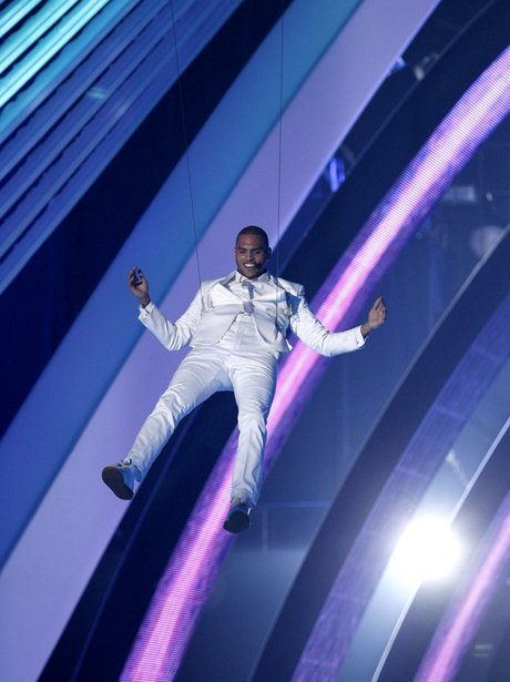 Chris Brown VMA's 2011