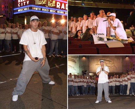 Eminem VMA's 2000