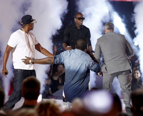 Kanye West and Jay-Z VMA 2011