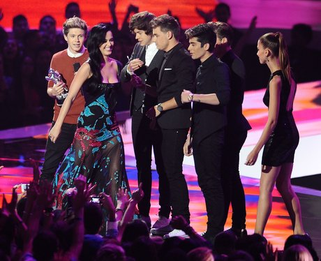 Katy Perry and One Direction VMA's 2012