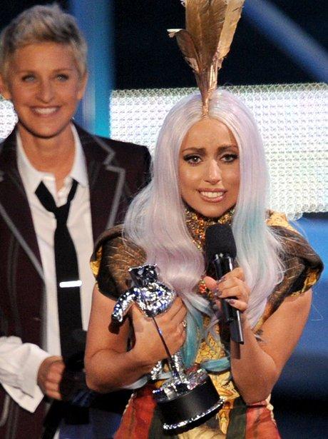Lady Gaga VMA's 2010
