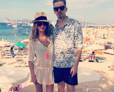 Millie Mackintosh and Pro Green on holiday
