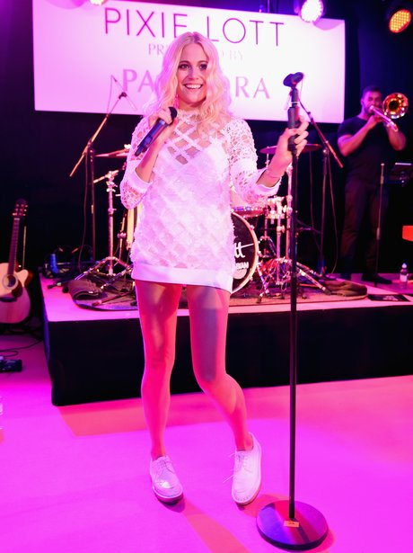 Pixie Lott at album launch