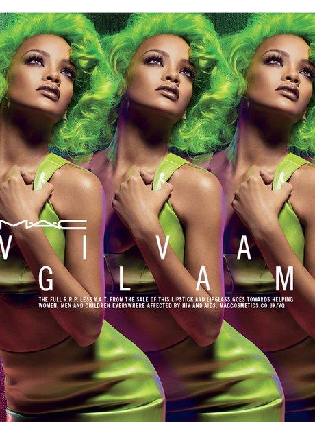 Rihanna launches M.A.C make up