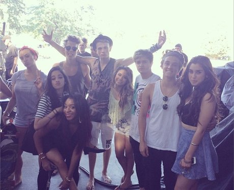 The Vamps with Fifth Harmony