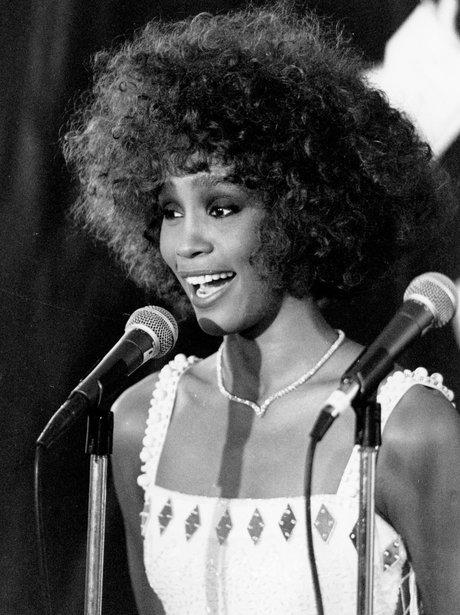 Whitey Houston VMA 1986