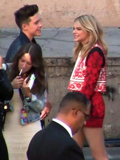 Brooklyn Beckham and Chloe Moretz