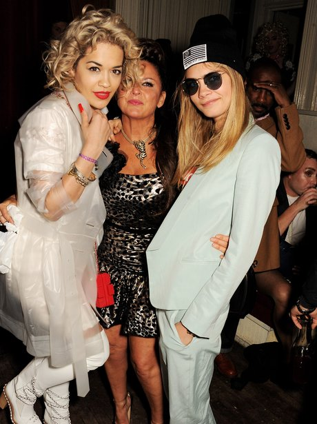 Cara Delevigne and Rita Ora