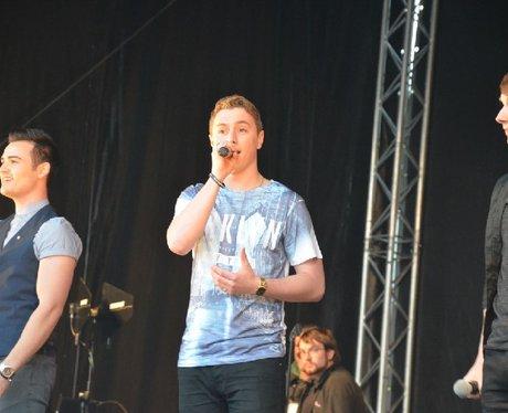Collabro at Pride Cymru 2014