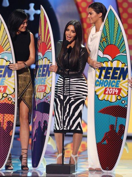 Kylie Jenner, Kim Kardashian and Kendall Jenner