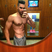 Image 7: Louis Smith shows off his abs