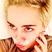 Image 2: Miley Cyrus Cream Moustache