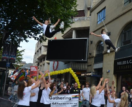 Pride Cymru 2014 - Parade
