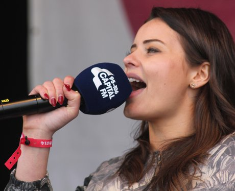 Sarah from Capital Breakfast at Osfest