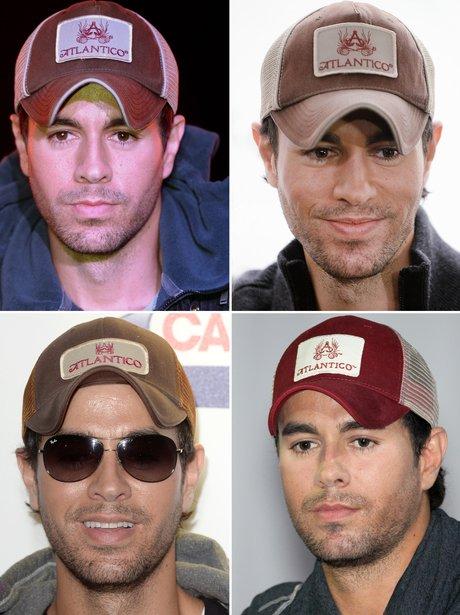 Enrique Iglesias - Baseball Caps - Celebrity Signature Styles  17 ... 36b9cafb53b