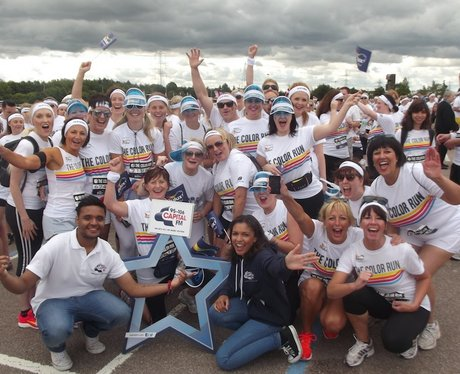 Team Photos at Color Run Birmingham