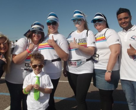 Team Photos at Color Run Birmingham