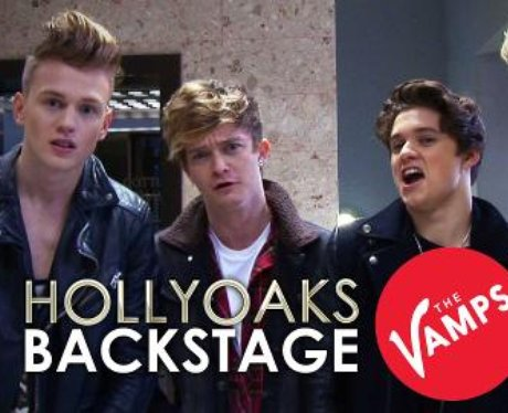 The Vamps Hollyoaks Still