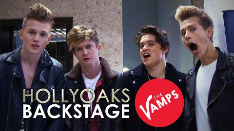 The Vamps On Hollyoaks